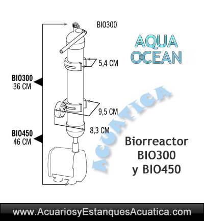 reactor-biorreactor-acuario-marino-resina-carbon-con-bomba-aqua-ocean-bio300-bio450-medidas