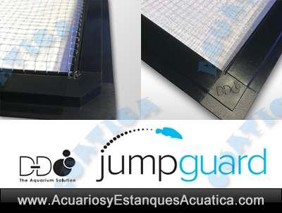 d-d-jump-guard-kit-para-fabricar-marco-tejido-tapa-cubrir-arriba-salto-acuario-peces-muerte