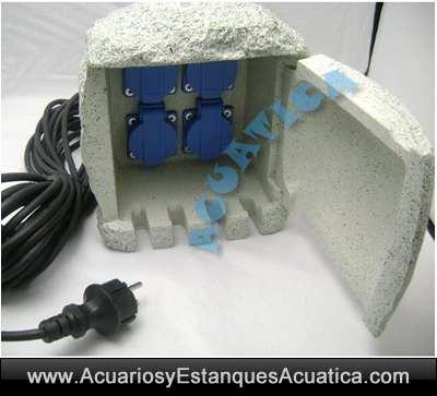 cuadro-electrico-externo-electricidad-enchufes-x-4-estanque-jardin-exterior-intemperie-camuflado-piedra