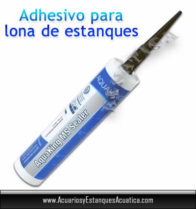 Pegamento adhesivo lona caucho estanques for Estanques de pvc