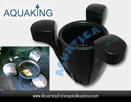 Skimmer aquaking sk 40 estanques acuarios y estanques for Estanques de agua baratos
