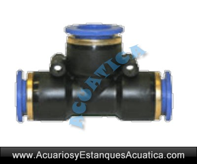 Conexion t 12mm industrial aire for Estanque oxigeno