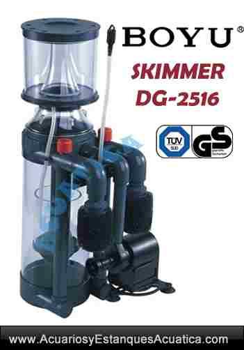 Skimmer boyu dg 2516 acuarios marinos acuarios y for Accesorios para acuarios marinos