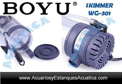 Skimmer boyu wg 310 acuarios marinos acuarios y for Accesorios para acuarios marinos