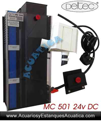 Deltec mc 501 24v dc skimmer acuarios marinos for Accesorios para acuarios marinos