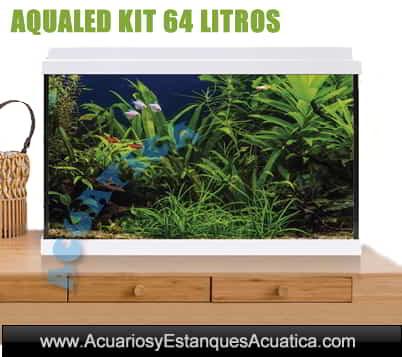 venta-de-acuarios-completo-dulce-plantado-Aqualed-ica-icasa-Blanco-64-litros-mueble