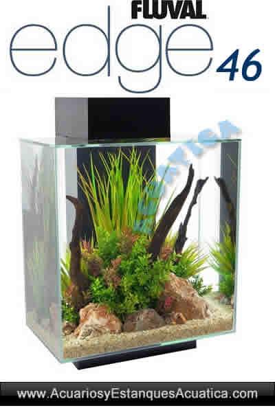 hagen-acuario-fluval-edge-46-litros-negro-agua-dulce-moderno-nano-perfil