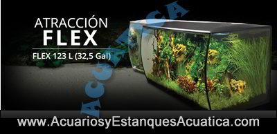 acuario-fluval-flex-123-litros-hagen-kit-dulce-tropical-banner-negro
