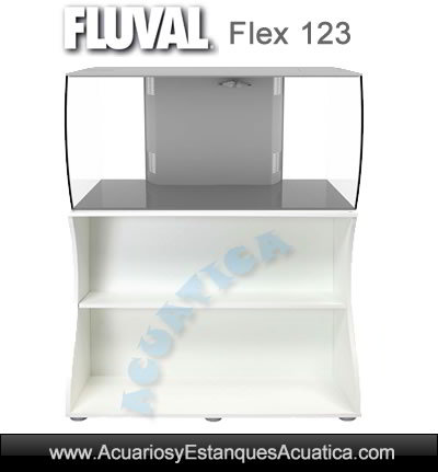 acuario-fluval-flex-123-litros-kit-dulce-led-kit-set-blanco-luz-movil-filtro-mueble-mesa-completo-oferta