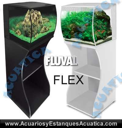 hagen-fluval-flex-36-57-nano-acuario-kit-cubo-led-equipamiento-completo-mando-control-mueble-blanco-negro