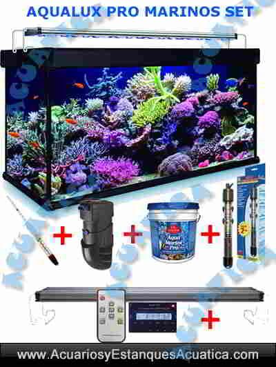 aqualux-pro-marino-set-calentador-leds-filtro-hydra-termometro-sal-acuario-arrecife-reef-pecera-set