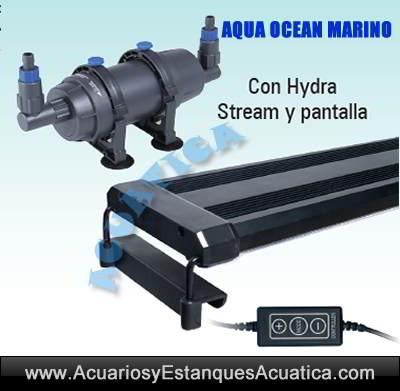 aqua-ocean-acuario-marino-kit-mueble-sump-filtro-hydra-stream-pantalla-led-precio-venta-oferta-barato-salada