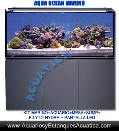 aqua-ocean-acuario-marino-kit-mueble-sump-filtro-hydra-stream-pantalla-led-precio-venta-oferta-barato