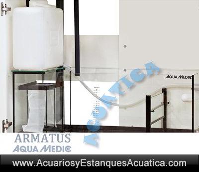 kit-acuario-marino-salada-aquamedic-Armatus-250-300-400-450-completo-sump-filtracion-calcetin-rellenador