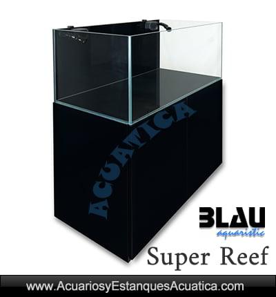 acuario-marino-completo-blau-Super-Reef-92--72-negro-con-mesa-sump-agua-salada-venta-compra