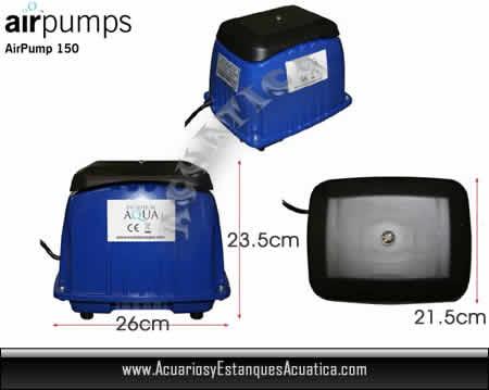 bomba-de-aire-oxigendor-compresor-aireador-estanque-ea-Airtech-150-medidas.jpg