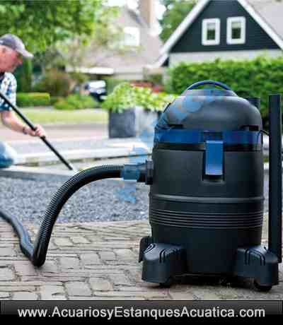 Aquaforte vacuum cleaner aspirador lodos fondo estanques - Limpiador fondo piscina ...