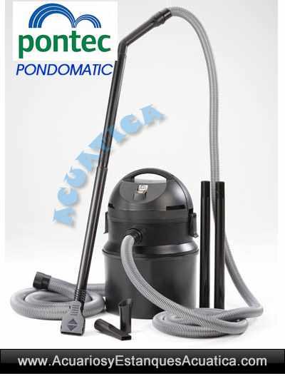 Pontec-PondoMatic-aspirador-de-lodos-estanque-fondo-algas-piscina-seco-1