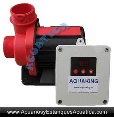 Aquaking red label anp bombas de agua estanques acuarios for Bombas de agua para estanques de jardin
