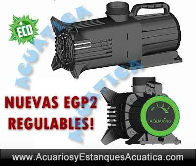 Aquaking Egp2 Eco Bomba De Agua Para Estanques Acuarios