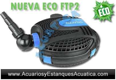 Aquaking ftp2 eco bomba de agua para estanques acuarios for Bombas de agua para estanques de jardin