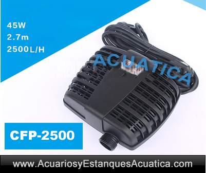 Grech Cfp 2500 Bomba De Agua Estanque Acuarios Y