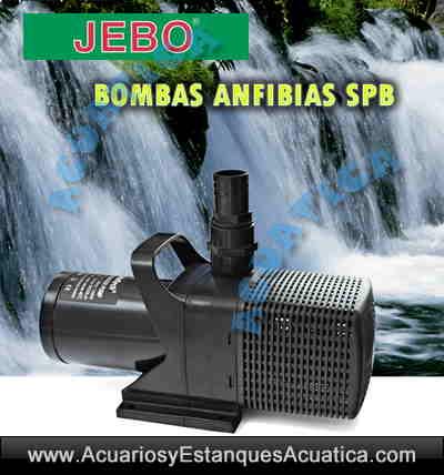 Jebo spb bombas de agua anfiabias para estanques for Bombas de agua para fuentes de jardin