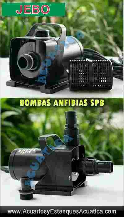 Jebo spb bombas de agua anfiabias para estanques for Bombas de agua para estanques de jardin