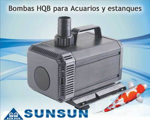 sunsun hqb 2200 1900l h bomba de agua para acuarios