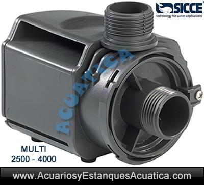Sicce-multi/bomba-circulacion-acuario-estanque-dulce-marino-sicce-Multi-interior-externa-en-linea-2500-4000