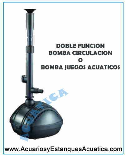 Bomba De Agua Aquaking Spg Estanques Acuarios Y