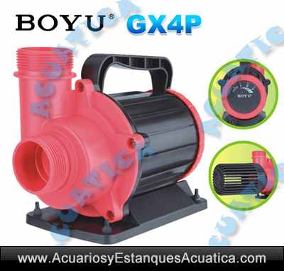 Boyu gx4p bombas for Bombas de agua para estanques de jardin