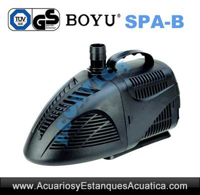 Boyu spa b bombas for Bomba agua estanque