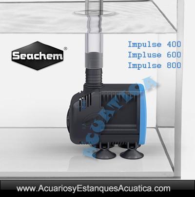bomba-acuario-estanque-seachem-impulse-400-600-800-circulacion-sump-cascada-hidroponia-filtracion-enfriador-marino-dulce-sumergida