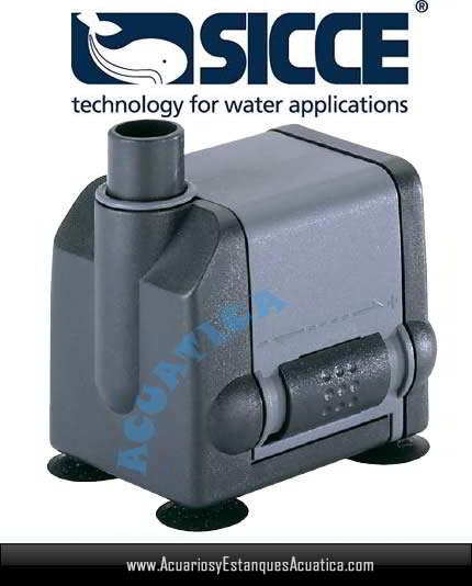 Sicce mi mouse bomba agua regulable acuario for Bomba cascada agua