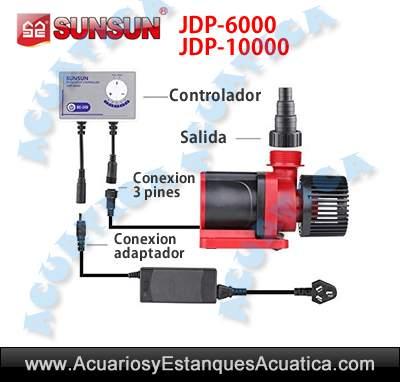 sunsun-jdp-6000-10000-bomba-acuarios-salada-dulce-sump-recirculacion-regulable-mando-barata