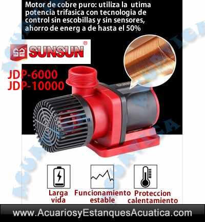 sunsun-jdp-6000-10000-bomba-acuarios-salada-dulce-sump-recirculacion-regulable-mando-control-ipx8-oferta