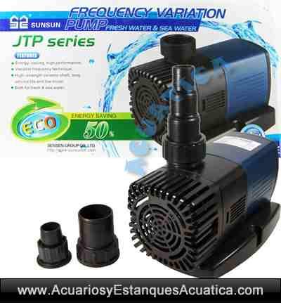 Sunsun jtp bombas de agua acuarios estanques acuarios y for Estanque de agua 10000 litros precio