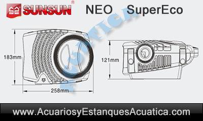 sunsun-neo-b-bomba-de-agua-estanques-filtro-cascada-altura-bombeo-medidas