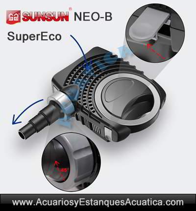 sunsun-neo-b-bomba-de-agua-estanques-filtro-cascada-charca-arroyo-fuente-estanque-laguna