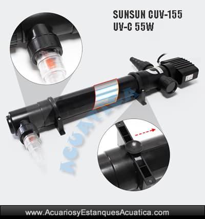 sunsun-cuv-155-55w-calrificador-uv-c-ultravioleta-estanque-charca-laguna-algas-agua-verde-germicida-esterilizador