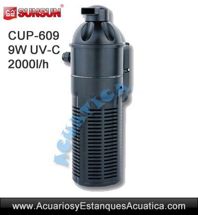 sunsun-cup-609-clarificador-elimina-algas-estanque-acuario-bomba-filtro-ultravioleta