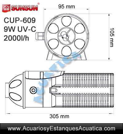 sunsun-cup-609-germicida-mata-verde-algas-estanque-acuario-sumergible-ultravioleta-medidas-1