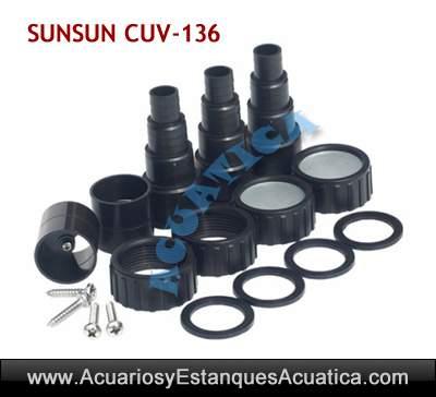 GERMICIDA-UV-SUNSUN-CUV-136-ELIMINA-ALGAS-AGUA-VERDE-boquillas