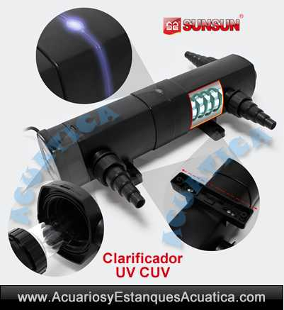 sunsun-cuv-2-clarificador-ultravioleta-estanque-acuario-algas-agua-verde-esterilizador
