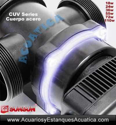 sunsun-cuv-755-55w-772-72w-7110-110w-clarificador-filtro-uv-ultravioleta-germicida-esterilizador-algas-estanque-visor