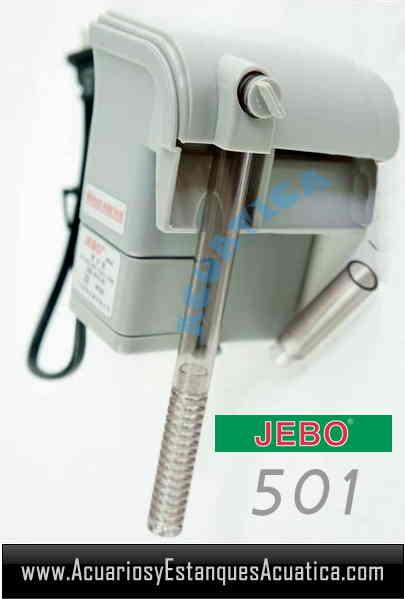 Jebo 501 filtro cascada acuario acuarios y estanques for Filtro acuario marino