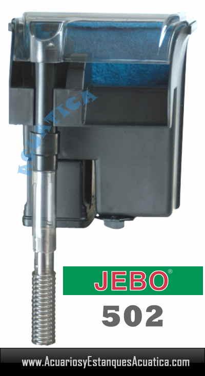 Jebo 502 filtro cascada acuario acuarios y estanques for Filtro acuario marino