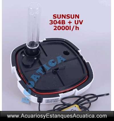 sunsun-304B-filtro-externo-2000-uv-c-lampara-ultravioleta-acuarios-exterior-cierre-clarificador-germicida-algas