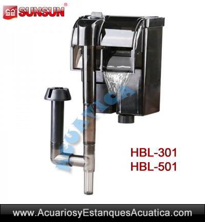 filtro-mochila-sunsun-HBL-301-501-cascada-acuario-pecera-nano